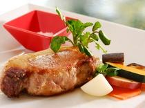 最高級!スペイン産イベリコ豚のステーキ