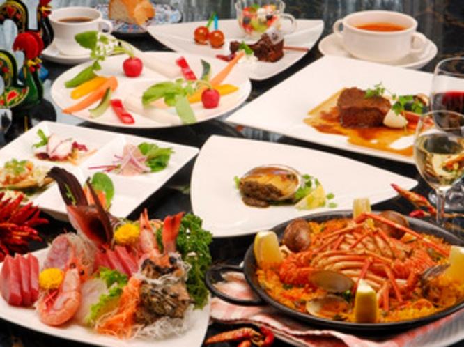 料理海鮮創作スペイン料理