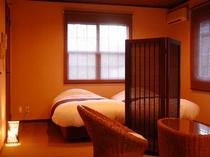 露天風呂付和洋室22畳(檜風呂)②