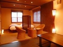 露天風呂付和洋室22畳(檜風呂)①