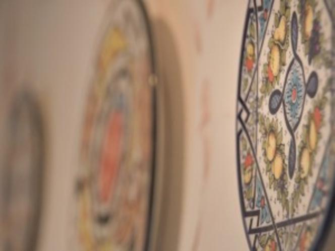 1号室飾り皿