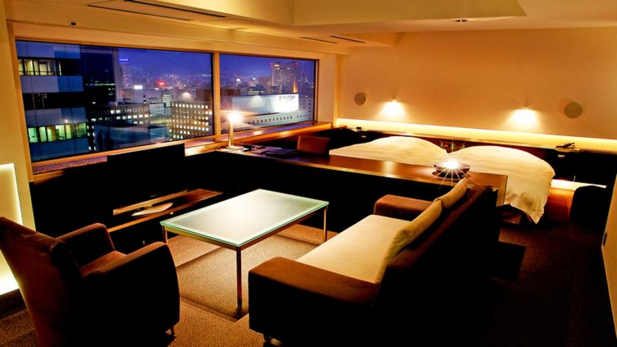 【朝食あり】客室最上階エクスクルーシヴフロアBLANC/朝食付ステイプラン【58平米以上】
