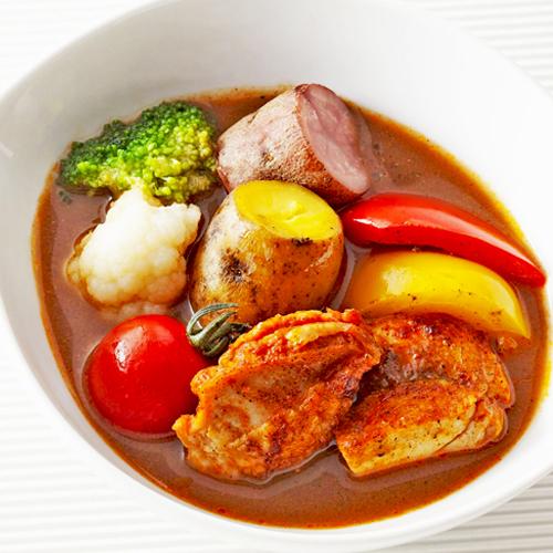 朝食ビュッフェ お好みで作れるスープカレー