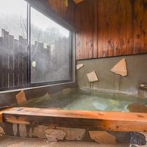 *【部屋(半露天付和室)5】窓を開けて、風を感じながらの湯浴みも気持ちいい♪