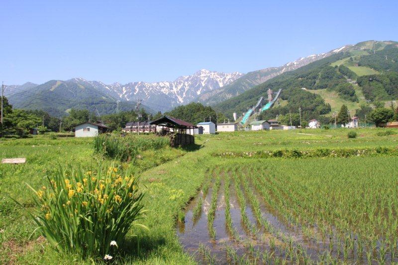 五竜岳展望