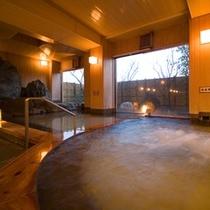 ■1階大浴場 檜