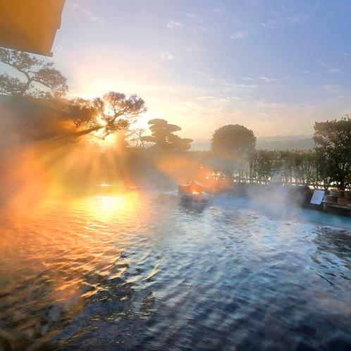 4階庭園露天風呂