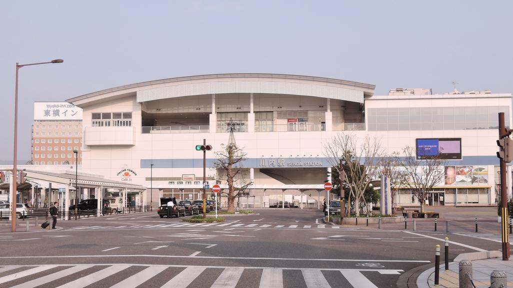 *【周辺情報】JR川内まで徒歩7分