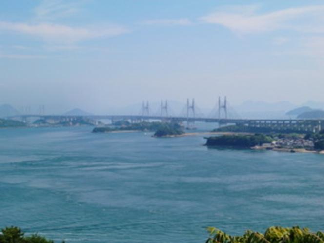香川県と岡山県を結ぶ瀬戸大橋