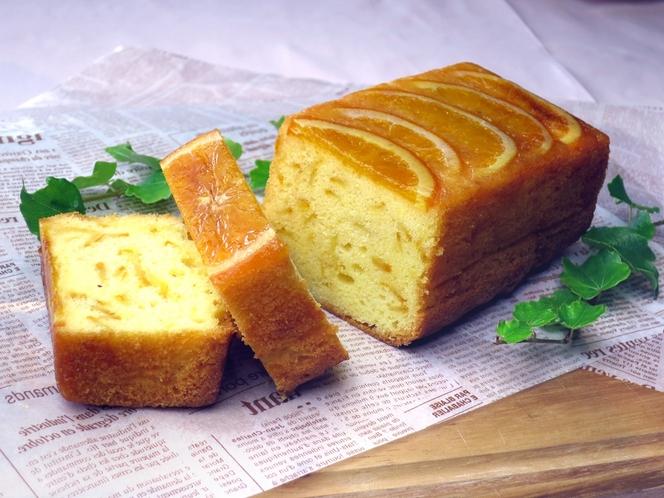 岡山国際ホテル特製オレンジパウンドケーキ