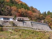 吹き屋ふるさと村(広兼邸) 映画八つ墓村のロケ地としても有名。