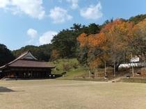 旧閑谷学校 旧岡山藩直営の庶民のための学校跡。講堂は国宝です。