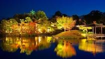 春、夏、秋に開催される烏城灯源郷、後楽園の幻想庭園に是非お出かけください。