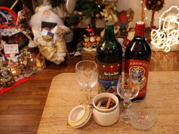クリスマスの飲み物グリューワイン