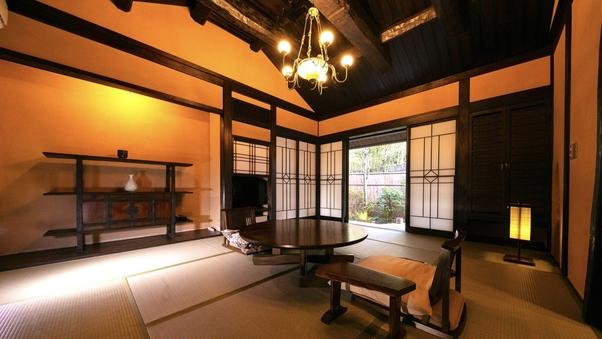 [離れ・露天風呂付特別室]◆蜜虫◆岩と陶器の2つの露天付き