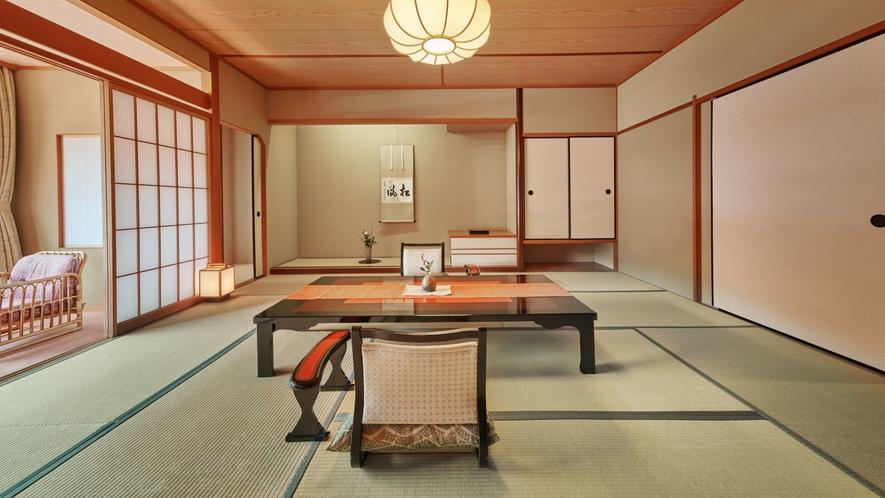 【和室】アップグレード和室(10畳~12.5畳+広縁)