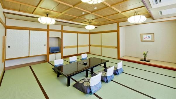 おまかせ客室(次の間和室または18畳の広めの和室)