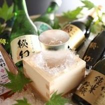 【地酒】お食事に合うお酒を多数ご用意いたしております※イメージ