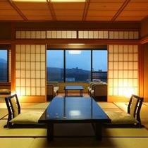 【貴賓室/蓬莱】15階から望む1フロアに4室だけの贅沢な空間※一例