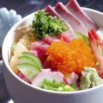 【夕食/バイキング】冬の味覚祭★勝手丼/好きな具材をのっけてお好みの海鮮丼に!※イメージ