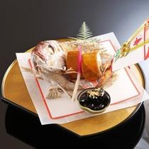 【夕膳/お祝い膳一品】お祝いの席に欠かせない「鯛」の一品をご用意※イメージ