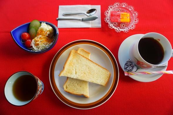 ●朝は軽めにすませたい方へ♪ トーストセットプラン●ツインB【空気清浄機完備】