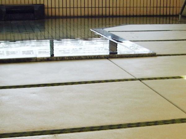 ▲ 展望大浴場が畳敷きのお座敷風呂になりました