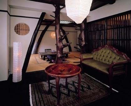 ●温泉の出るアンティーク露天風呂付客室/Wi-Fi完備・禁煙
