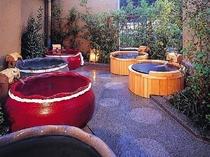 ▲ 庭園露天風呂