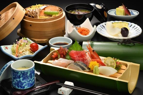 【デイユース/昼食付】選べるせいろ定食+温泉+お部屋休憩付プラン 滞在時間11:00〜15:00
