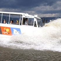 諏訪湖へスプラッシュイン