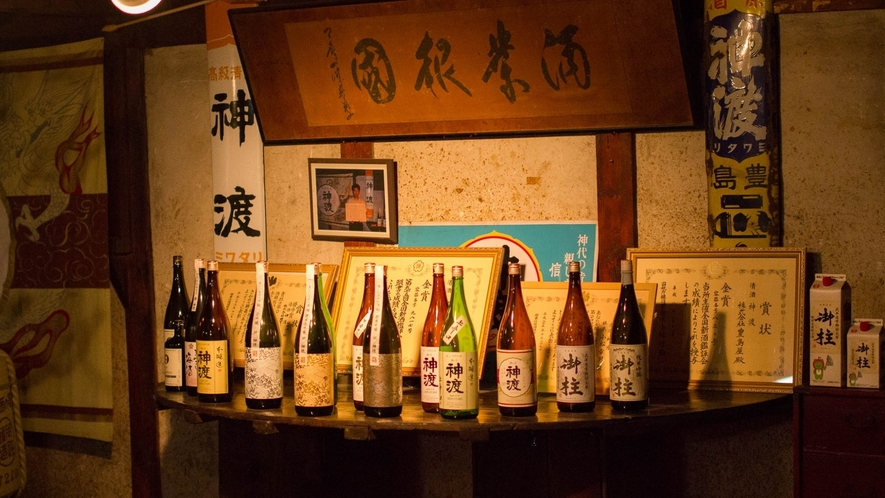 諏訪の酒蔵巡りも楽しめます。