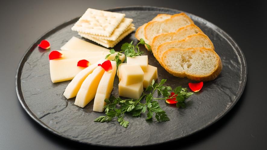 別注料理 チーズ盛り合わせ