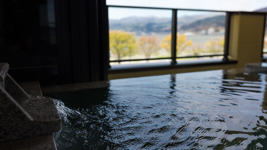 全室諏訪湖を望む露天風呂付