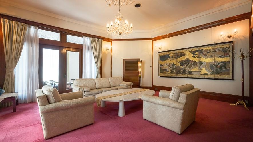 ヴィクトリア調の様式に、シンプルさを加えた「迎賓館」
