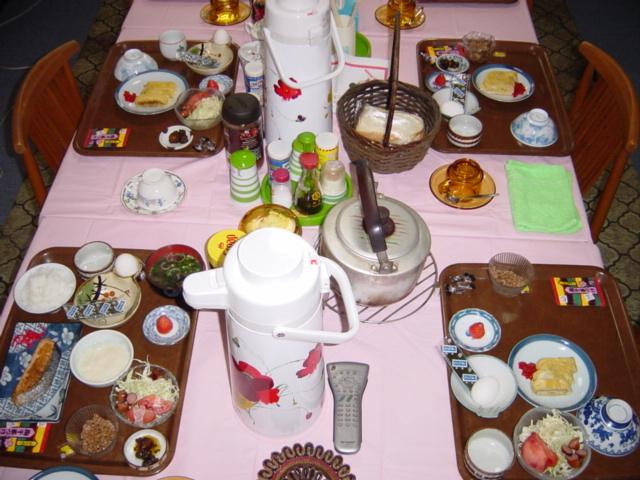 朝食*朝6:30〜8:30一階食堂にて!*工事等ビジネス滞在夕食対応可!