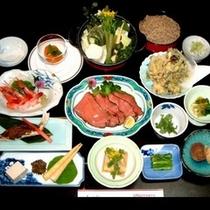 春〜夏にオススメ / 旬の食材をふんだんに満喫料理はコチラ