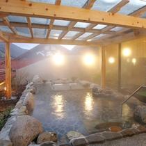 白猿の湯 露天風呂