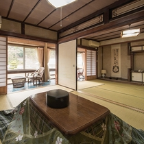 *【和室12畳】純和風の造りは、外国人観光客にも人気!