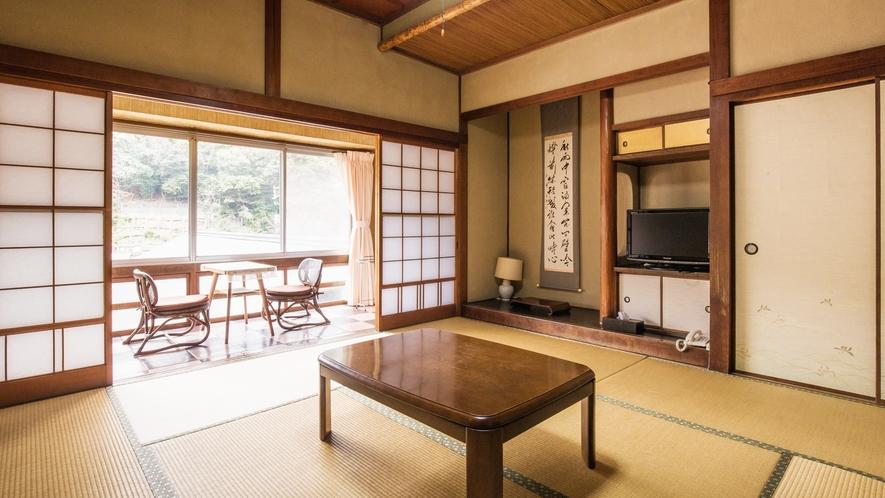 *【和室8畳】木造の趣のあるお部屋。