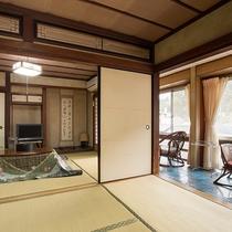 *【和室12畳】広々としたお部屋。家族旅行やグループ旅行におススメ!
