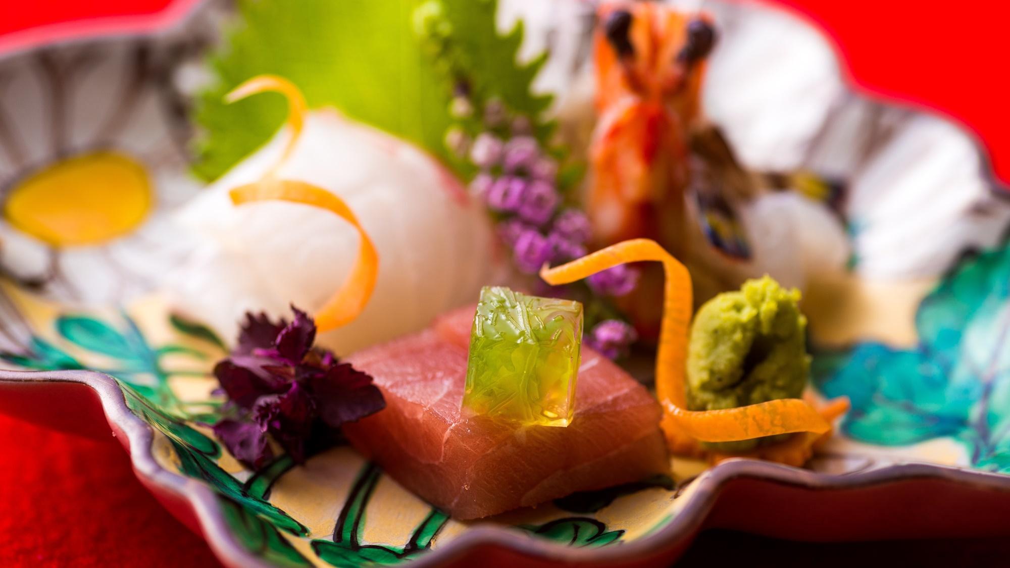 【会席料理】お料理一例 お刺身