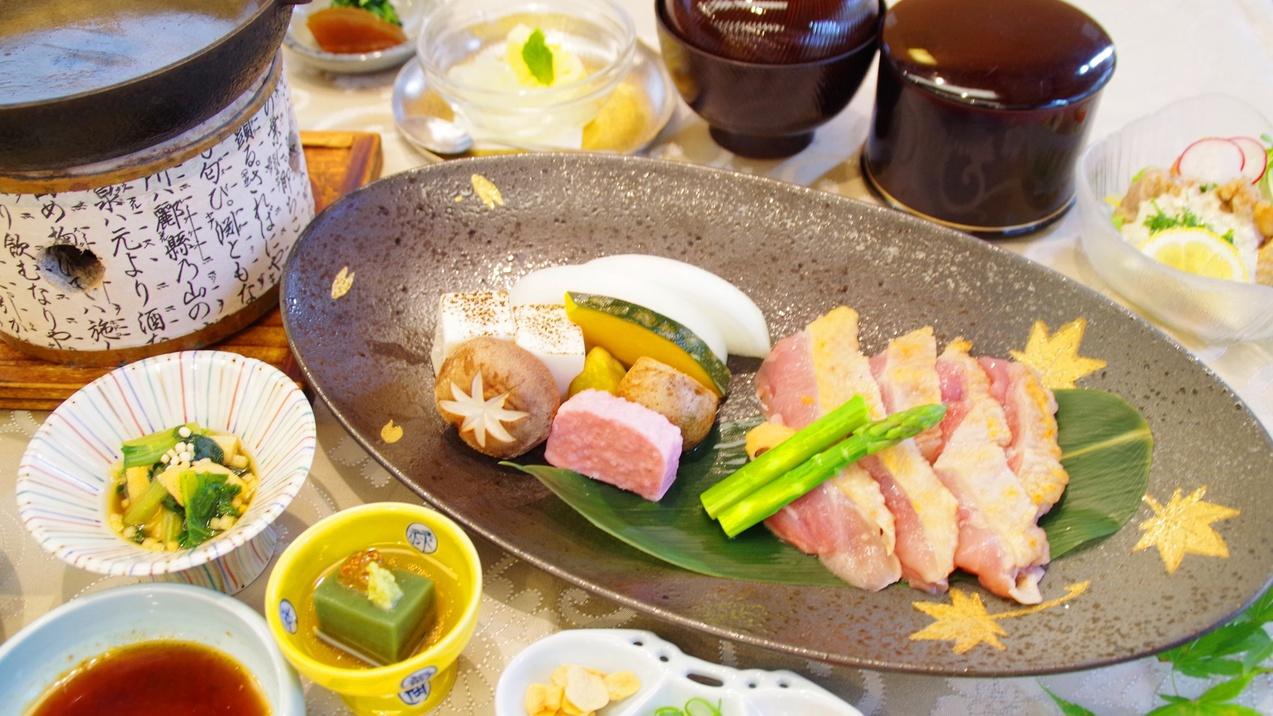 【レストラン】メニュー一例:大和肉どり