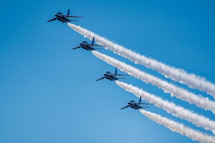 航空自衛隊松島基地 ブルーインパルス
