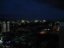 ホテルより見える夜景