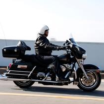 主人とバイク