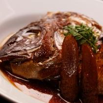 夕食_魚の煮付け