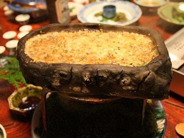 名物 石焼味噌
