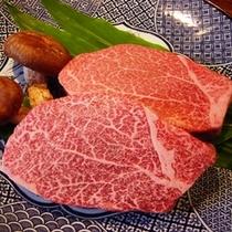 桂月でしか食べられない特別食材【村沢牛】