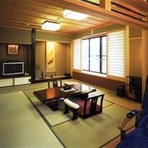 最上階の露天風呂付き客室